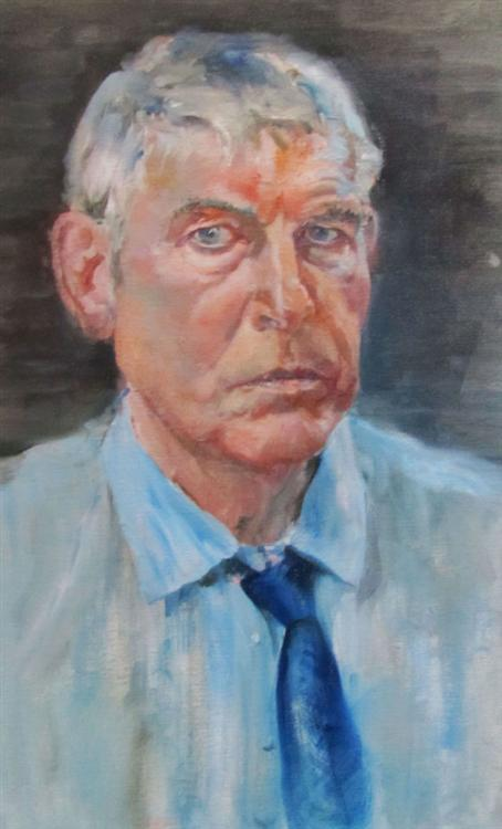 Bill Slora - Self Portrait - Oil on canvas