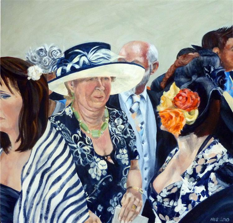 Marianna Simpson - Celebration 3 - acrylic on canvas