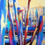 San Toma Venice 8ocm x 80cm Acrylic