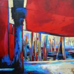 The Fish Market Venice Acrylic
