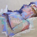 Keith      40cm x 50cm   pastel on paper