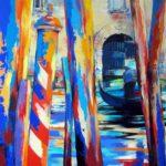 Grand Canal Venice  80cm x 80cm Acrylic