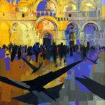 San Marco Basilica, Venice.  50cms x 75cms